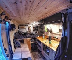 interior of converted camper van 97 chevy van project class b rv