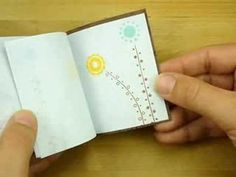 A Book To FLIP For. Make a flip book birthday card using Post-It notes.