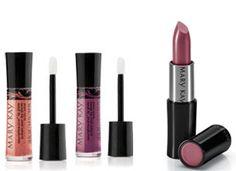 Lipstick, eye shadows, & blush colors for medium/beige skin tones.
