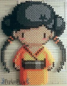 Geisha Girl Akiko by PerlerPixie.deviantart.com on @DeviantArt