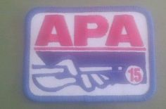 APA 15 Embroidered Patch Shooting Pool American Pool Players Association NEW