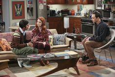 Sheldon has a serious talk with Raj and Emily.