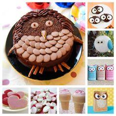 Owl Party Theme, printables and food - Kidspot Social