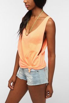 Mouchette Drop-Arm Muscle Tee  #UrbanOutfitters