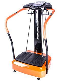 Aminiture Full Body Vibration Platform Fitness Machine Vibration Plate Pro Orange >>> For more information, visit image link.