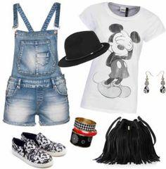 Diva móda - Mickey Mouse