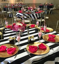 Kate Spade inspired party theme ideas