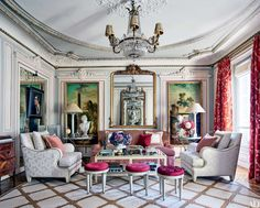 26 Living Room Ideas from the Homes of Top Designers Photos   Architectural Digest