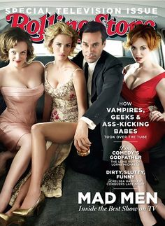 The cast of 'Mad Men' on the September 16, 2010 cover.