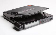 Sony Discman D-250 with metal case
