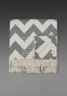 Chevron throw blanket