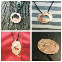 Pieces made during a @olivecedarstudio workshop @curatedptbo! #ArtsKN  Part 2 of the workshop is happening February 25th! Call 705-917-3630 for more details.  from Curated instagram
