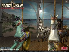 Ride the carousel from Nancy Drew: The Haunted Carousel!
