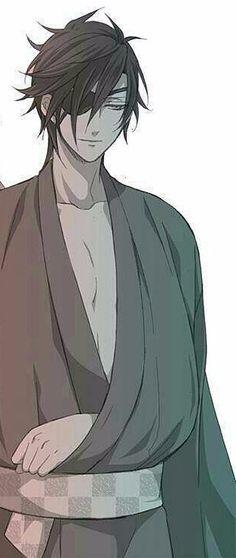 Mitsutada looks so hot in that yukata #TOUKENRANBU #SHOKUDAIKIRIMITSUTADA