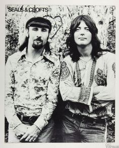Seals & Crofts Year of Sunday 1972 New Album Promo B/W Cardboard Poster 22 x 27 Seals And Crofts, Tv Couples, Band Photos, Band Posters, Summer Breeze, Music Bands, Music Artists, My Music, Boy Bands