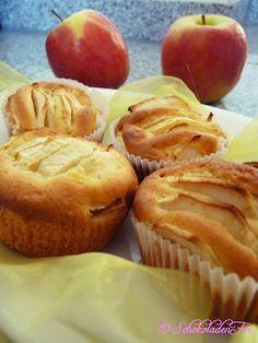 Apfelspalten-Muffins