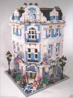 Albergo Lego francese dell'Europa orientale Viaggi 4 Story modulare personalizzata Artitecture | eBay