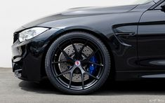 BMW M4 with HRE P101