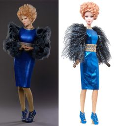 Effie Catching Fire Barbie!