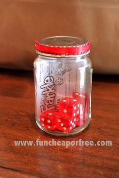The Fun Cheap or Free Queen: Fun/cheap/free/creative Christmas gift ideas for neighbors and friends...plus Travel Farkle game DIY tutorial for super cheap.