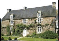 Manoir du Botrain, Mûr-de-Bretagne, Côtes-d'Armor, 18e s.   Brittany