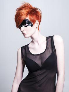 Model: Corinne Pavlicek Hair Joel Holland Makeup Joel Holland Love the hair!