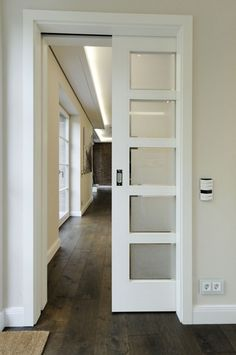 Image no. Sliding door semi-open - Decoration For Home Rustic Bathroom Shelves, Rustic Bathroom Designs, Bathroom Doors, Front Garden Entrance, Open Architecture, Recycled Furniture, Bathroom Renovations, Rustic Design, Ideas