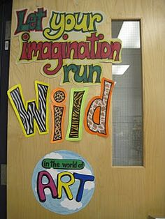 great idea for a door or bulletin board