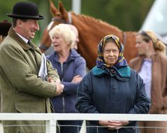 The Queen is a proud grandmother as she supports her granddaughter Zara Phillips at the Royal Windsor Horse Show