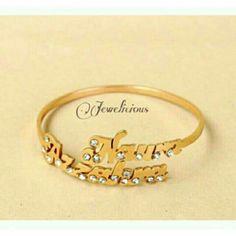 Saya menjual Gelang Nama Custom Lapis Emas permata seharga Rp135.000. Dapatkan produk ini hanya di Shopee! {{product_link}} #ShopeeID