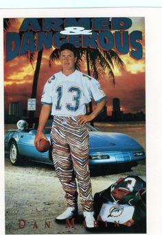 Dan Marino. Design by the Costacos Brothers.