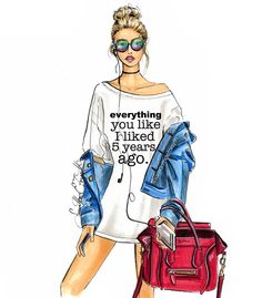 @samanthaeforsyth fashion illustration. Prints and cell phone cases available on etsy www.samanthaeforsythny.etsy.com| Be Inspirational ❥|Mz. Manerz: Being well dressed is a beautiful form of confidence, happiness & politeness