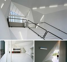 white corporate headquarters interiors - Google Search