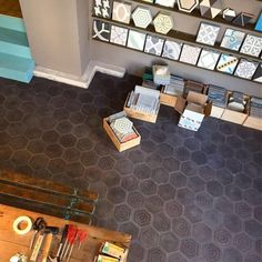 Soon is our new location ready to moove in! #handmade #cementtiles #popham #design #colors Tile Floor, Flooring, Colors, Crafts, Handmade, Design, Ideas, Manualidades, Tile Flooring