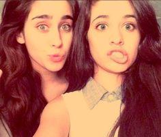Camila Cabello and Lauren Jauregui