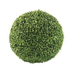 Boule artificielle D 35 cm BUIS
