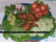 RECETA DE RICOS CAMARONES EMPANIZADOS