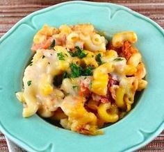 """Meatless Italian Macaroni Bake: """"Wow, these five ingredients really come together well to make a great kid- and adult-pleasing casserole! It's great with the Italian seasoning, but I think you could try it with Mexican seasoning, too."""" -*Parsley* #dinnerrush"""