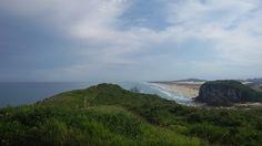 Praia de Itapeva ao fundo - Torres RS, Brasil