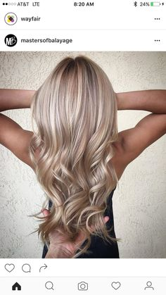 Are you going to balayage hair for the first time and know nothing about this technique? We've gathered everything you need to know about balayage, check! Hair Blond, Blonde Hair With Highlights, Hair Color Balayage, Blonde Color, Blonde Balayage, Dark Blonde, Blonde Tips, Light Highlights, Bayalage