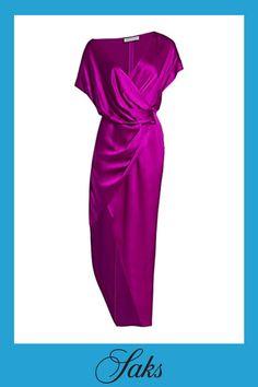 Silk Wrap, Tulip, Wrap Dress, Shoulder Dress, Short Sleeves, Zipper, Button, Model, How To Wear