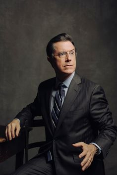 Stephen Colbert - Danny ClinchYou can find Stephen colbert and more on our website. Jon Stewart Stephen Colbert, Snl News, Colbert Report, New Girl Quotes, Nick Miller, Steven Meisel, Ron Swanson, The Fault In Our Stars, Dream Guy