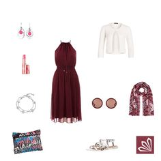 Evening Outfit: Red Wine. Mehr zum Outfit unter: http://www.3compliments.de/outfit-2015-07-04-a