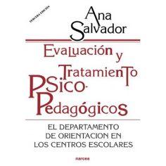 Evaluación y tratamiento psicopedagógicos. 15,60€