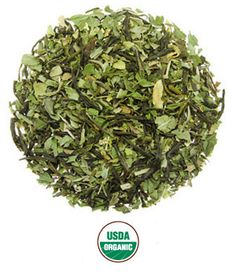 Moroccan Mint Green Tea Blend is Rishi Tea's original, premium version of a classic green tea blend enjoyed throughout the world. This blend combines the finest organic peppermint with floral-scented, Chinese green tea.
