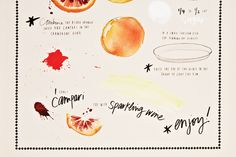 wrapping paper by Katie Lee // One Kings Lane, to benefit Feed America