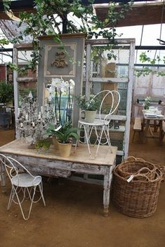 garden shop display