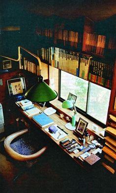 Un rêve d'écrivain : bureau d'Akira Yoshimura * writing room