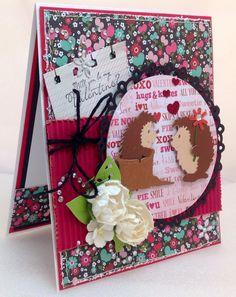 Frances Rodriguez: Be Creative, Be You for CottageBLOG: Spring Hedgehogs! - 2/5/14.  (Dies: Spring Hedgehogs.  (Pin#1: Dies: Cottage Cutz).  Pin+: Valentines-Dies; Animals...)