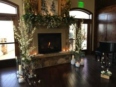 Love decorating the fire place